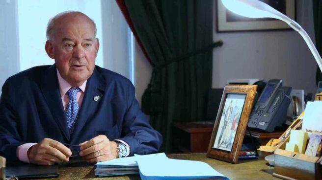 El abogado Juan Antonio Sagardoy, uno de los principales expertos que participó en la reforma laboral que acometió el Gobierno de Mariano Rajoy.