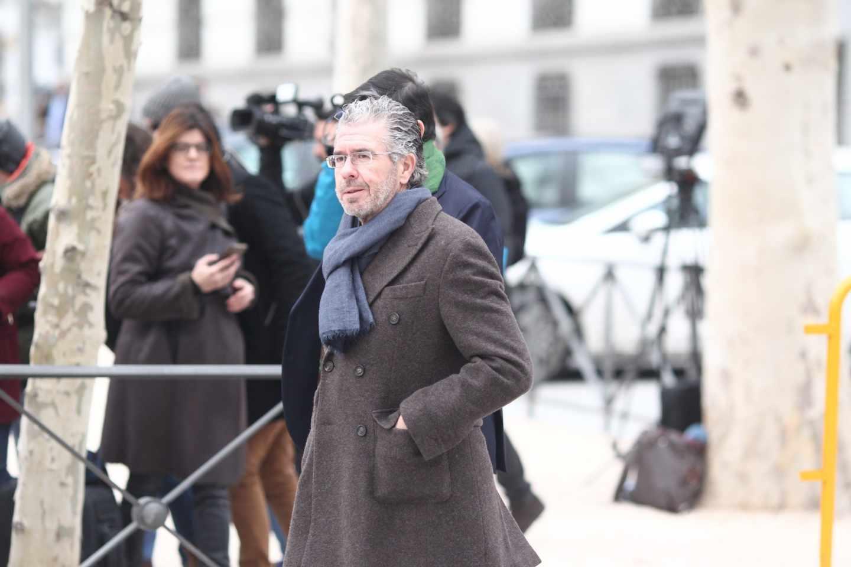 Francisco Granados llega a la Audiencia Nacional.