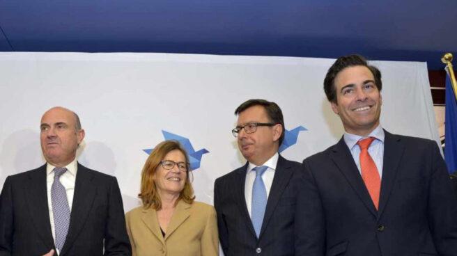 Guindos, Beristain, Escolano y Zalba.