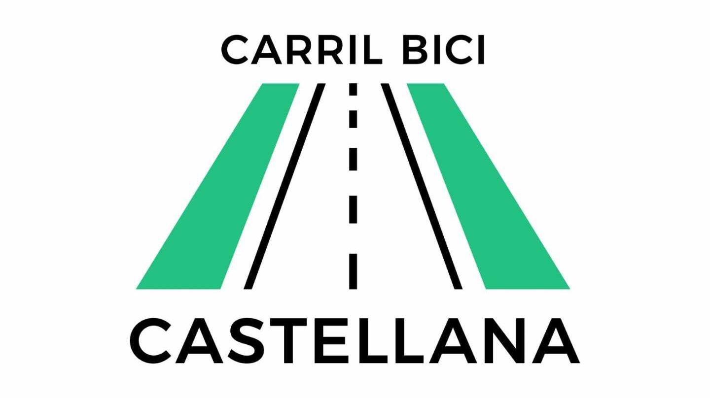 Logo de la iniciativa en aras de una infraestructura ciclista para el Paseo de la Castellana.