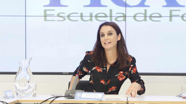 Andrea Levy, vicesecretaria del PP.