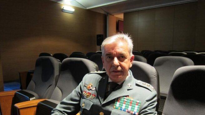 El coronel de la Guardia Civil Manuel Sánchez Corbí, al frente de la Unidad Central Operativa (UCO) desde finales de 2015 hasta el verano de 2018.