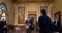 Maduro en el Palacio de Miraflores.
