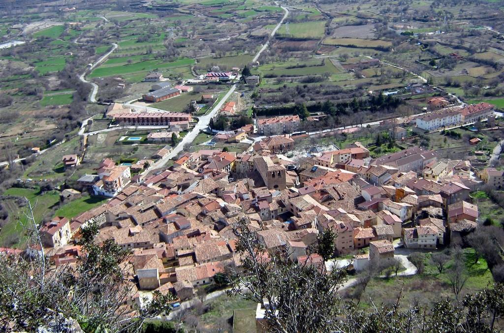 Poza de la Sal, en la Bureba, la localidad natal de Félix Rodríguez de la Fuente.