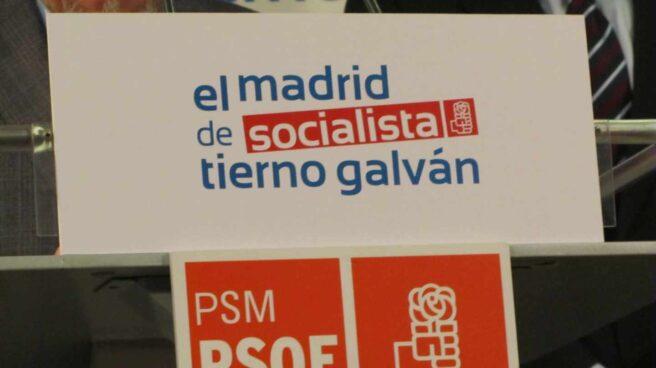 Cartel electoral del PSOE de Enrique Tierno Galván.