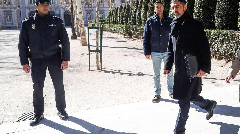 Josep Lluis Trapero abandona la Audiencia Nacional.