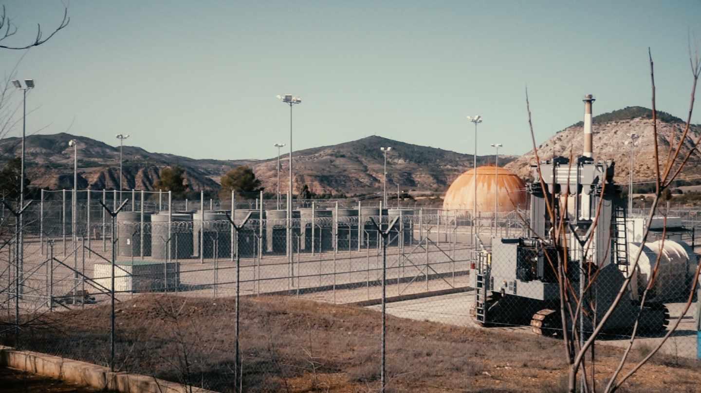 Almacén temporal de residuos nucleares en Zorita