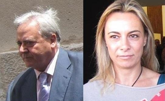 Luis Díaz Alperi y Sonia Castedo.