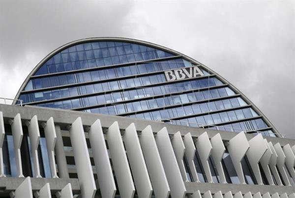 Sede de BBVA en Madrid.