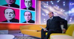 Silvio Berlusconi en un programa de televisión.