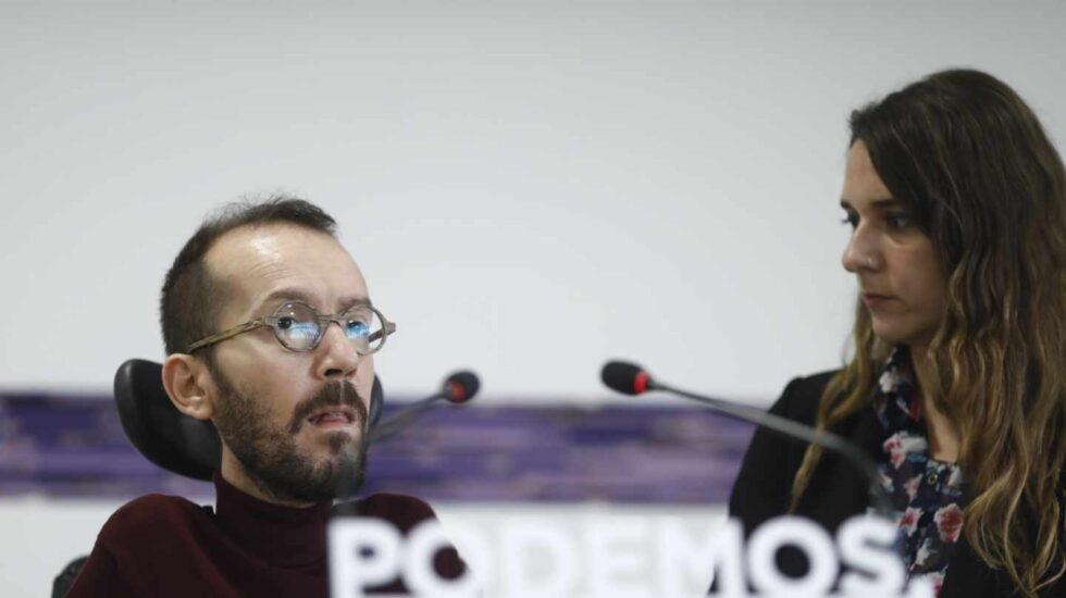 Pablo Echenique explica las tandas de primarias municipales de Podemos.
