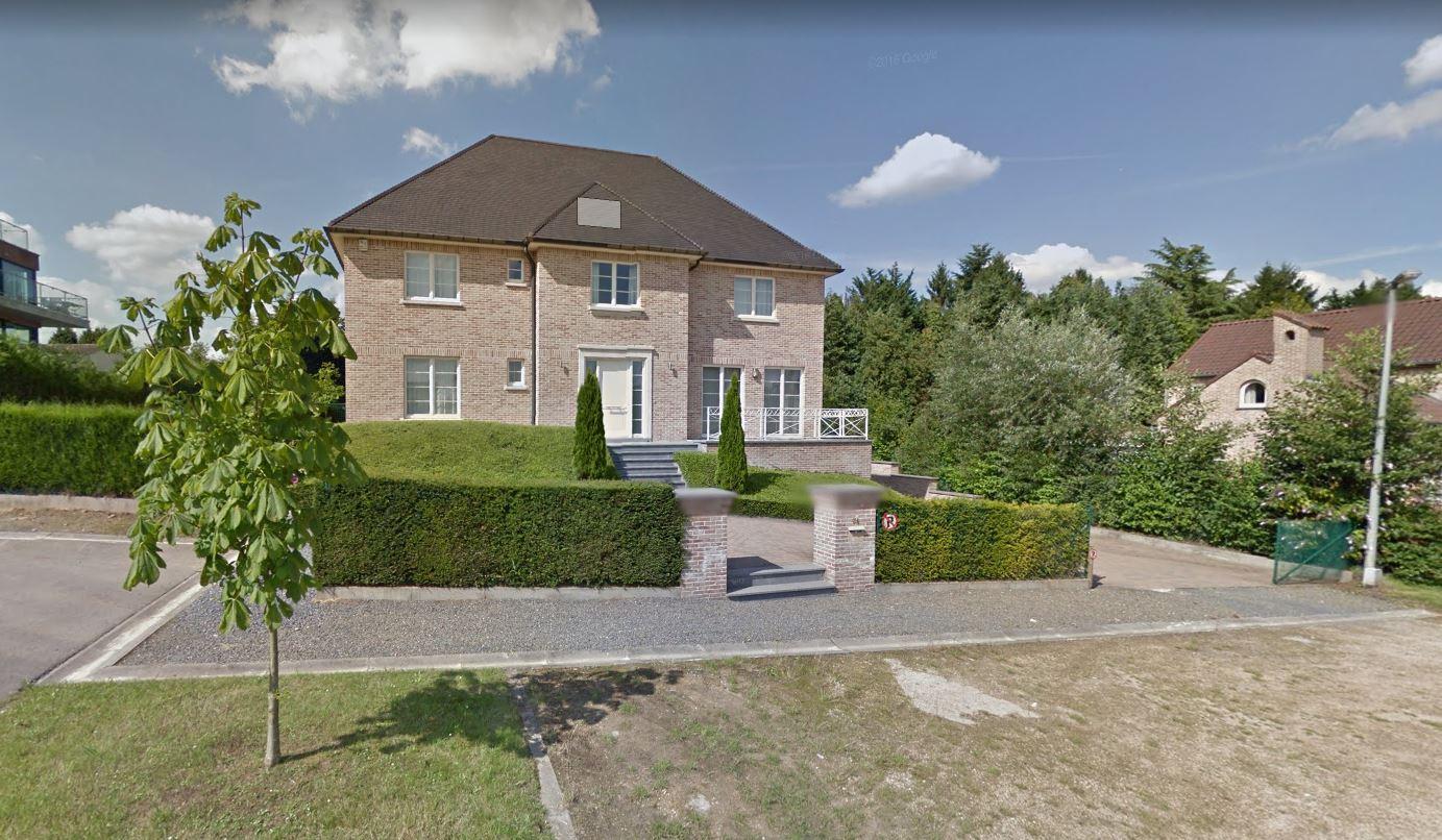 La vivienda alquilada por Carles Puigdemont en Waterloo (Bélgica).