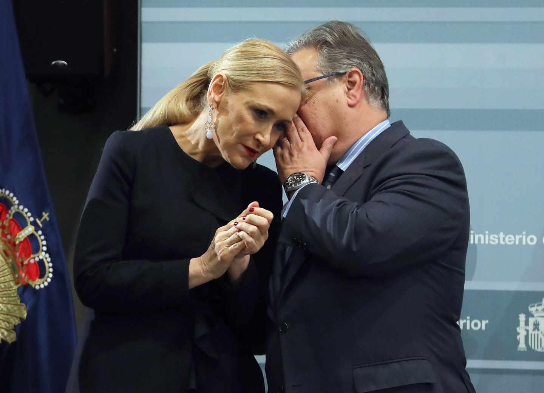 Cristina Cifuentes y Juan Ignacio Zoido.