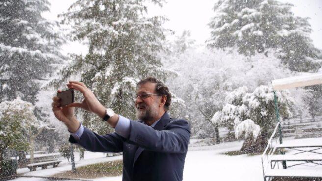 Rajoy, en Moncloa.