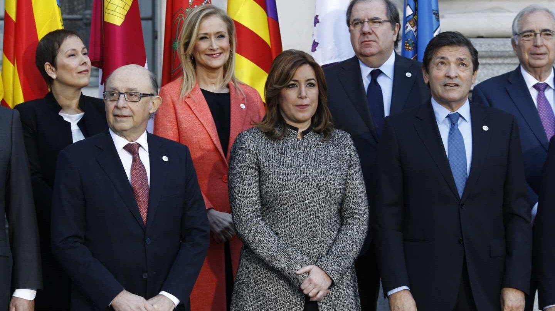 Foto de familia de la Conferencia de Presidentes de 2017.