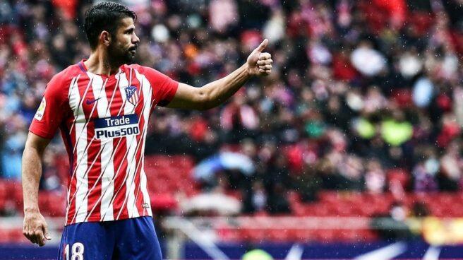 El jugador del Atlético de Madrid Diego Costa.