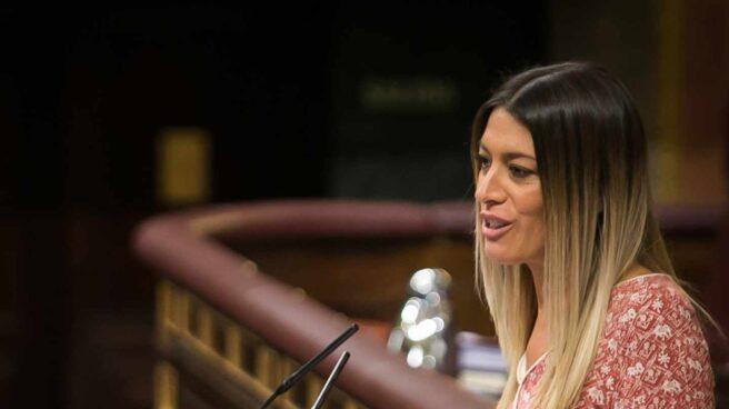 La diputada del PDeCat en el Congreso, Miriam Nogueras.