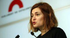 La portavoz de Catalunya en Comú, Elisenda Alamany, en el Parlament.