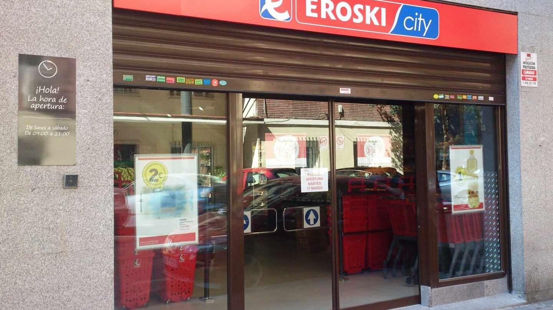 Tienda de Eroski en Madrid.