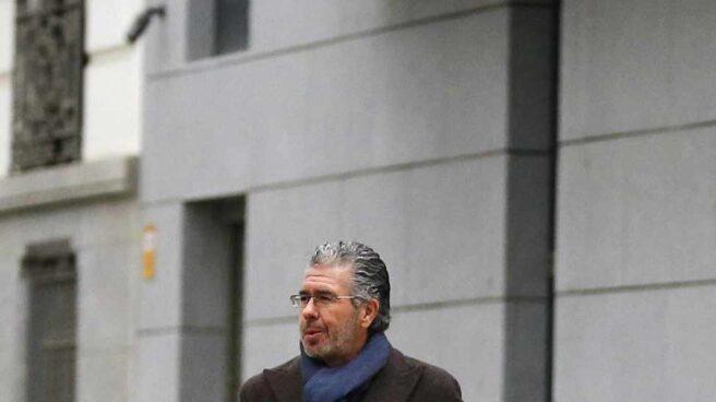 Francisco Granados, a su llegada a la Audiencia Nacional.