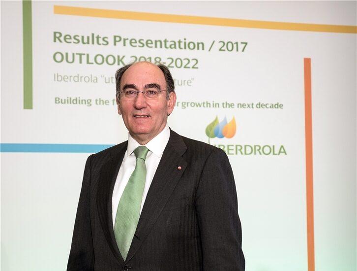 El presidente de Iberdrola, Ignacio Sánchez Galán.