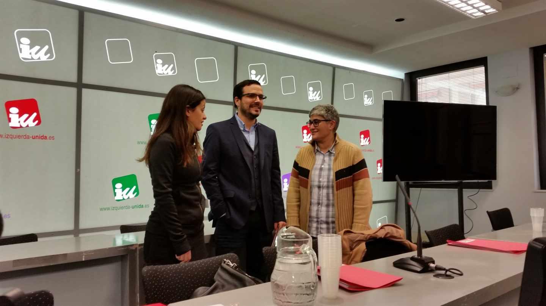 Alberto Garzón en la reunión Coordinadora Federal de Izquierda Unida, el pasado 13 de enero.