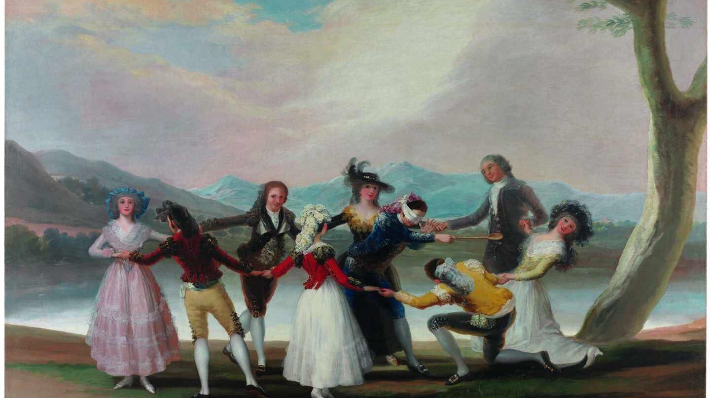 La gallina ciega, 1788 Óleo sobre lienzo