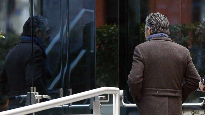 Francisco Granados, entrando a declarar en la Audiencia Nacional.