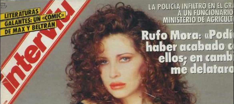 Portada de 'Interviú' con declaraciones de Rufo Mora, años después de su aventura como infiltrado en los GRAPO.