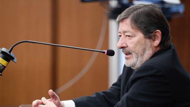Javier Guerrero, ex director general de Trabajo y Seguridad Social de la Junta, este lunes en el juicio por el 'caso ERE'.