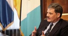 El presidente de Oxfam Internacional, Juan Alberto Fuentes Knight.