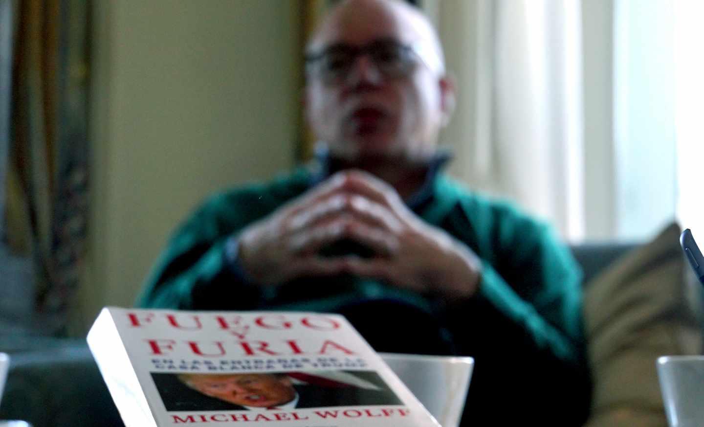 El autor estadounidense Michael Wolff