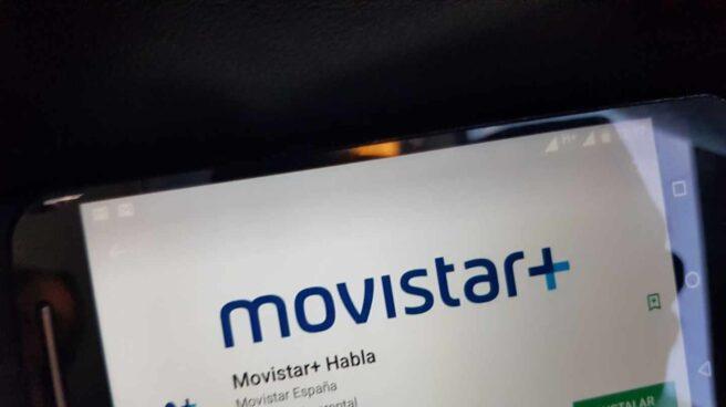 La aplicación Movistar+ Habla, a tra´ves de la que los clientes de Telefónica pueden usar Aura.