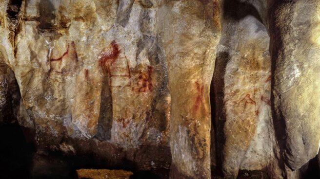 Cueva de la Pasiega en Cantabria donde se puede ver arte rupestre neandertal.