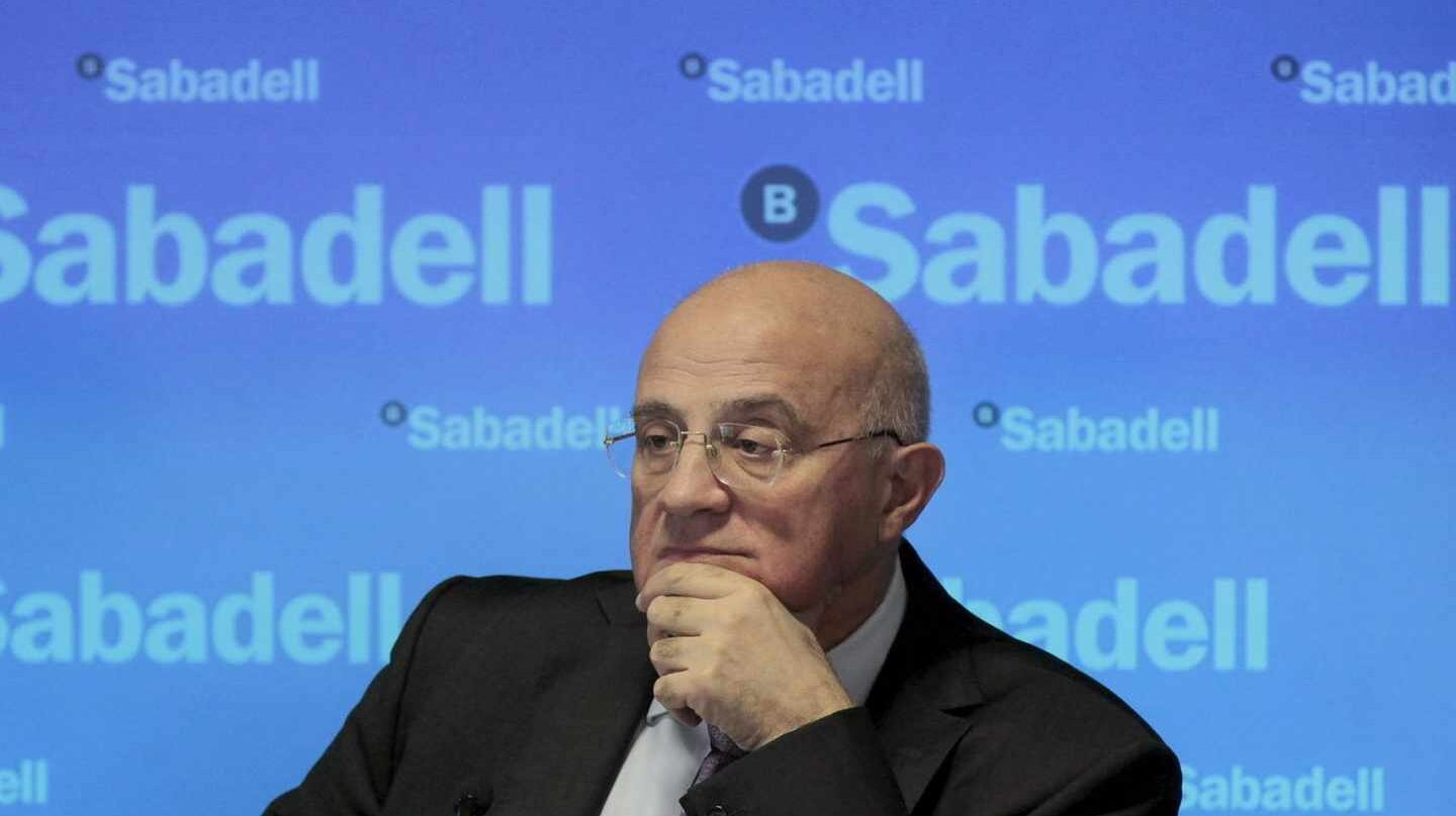 Sabadell espera disparar su beneficio un 75% hasta 2020.