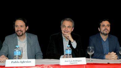 """Zapatero, Iglesias y Garzón se unen en apoyo a Evo Morales: """"Es el mejor presidente"""""""
