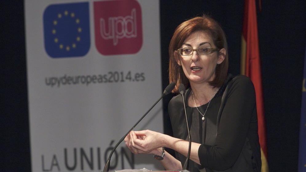 La eurodiputada de UPyD, Maite Pagaza