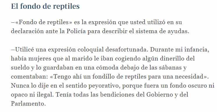 Extracto de la entrevista a Javier Guerrero publicada por el diario 'Abc' el 2 de octubre de 2015.