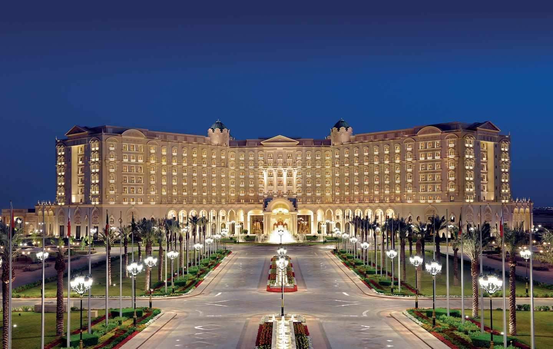 El lujoso Ritz-Carlton de Riad, capital de Arabia Saudí.