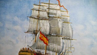 Una historia en rojo y amarillo: 175 años de la bandera española