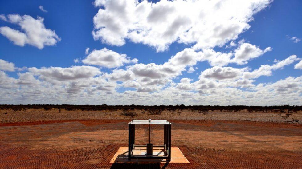 Detector de radio EDGES en Australia