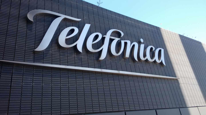 La sede de Telefónica en Madrid.