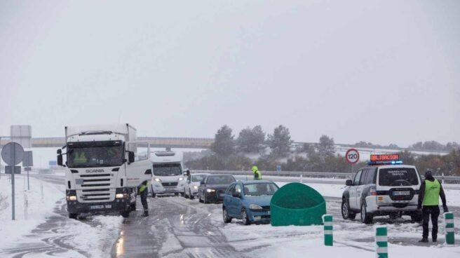 Temporal de nieve en España.