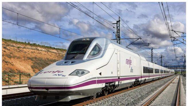 Tren AVE de Renfe.