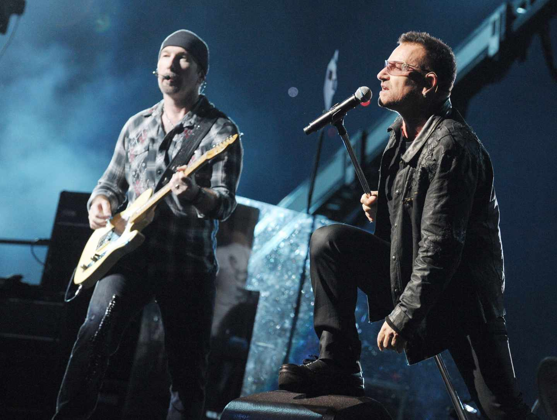 U2, en concierto.
