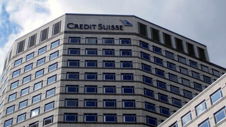 Sede de Credit Suisse en Londres.