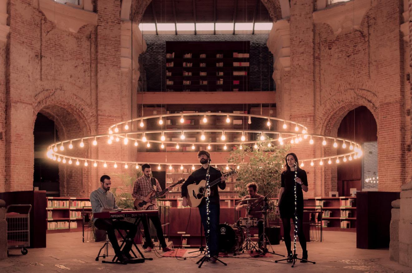 El grupo de música Gentleman Cleff.