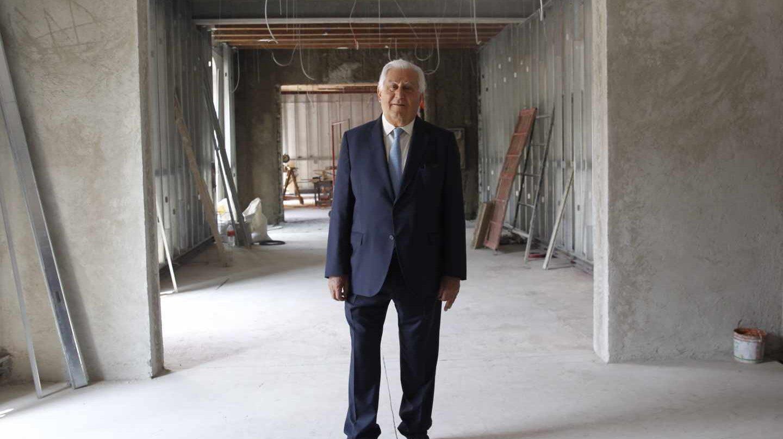 El empresario mexicano de origen asturiano Antonio del Valle.