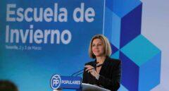 María Dolores de Cospedal en un acto del PP
