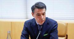 Ignacio González durante su comparecencia en la Asamblea de Madrid